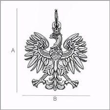Anhänger - Polnischer Adler  Echt 925er.Sterling Silber   21/17mm   TOP   LK0471