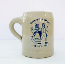 Vintage Noseda Kortrijk Folk Festival Pottery Tankard