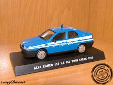 ALFA ROMEO 155 1.8 16V.TWIN SPARK 1:43 ITALY POLICE '96