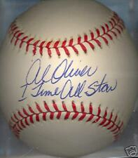 Al Oliver 7x All Star Pittsburgh Pirates Signed Ball