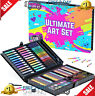 GirlZone: Art Set for Girls, 118 Pieces Arts and Crafts Kit for Kids.