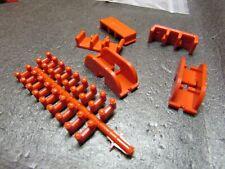 AURORA TJET PROTOTYPE RED PARTS TRACK LOCKS LOOP TO LOOP CLIPS LOT VINTAGE