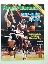1986 MICHAEL JORDAN CHICAGO BULLS ONE-MAN GANG Sports Illustrated NO LABEL