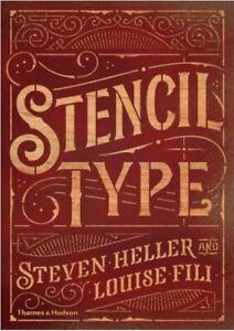 Stencil Type, Louise Fili,Steven Heller, Excellent Book