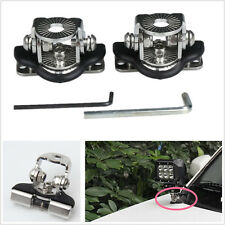 2 piezas de metal coche 4X4 4WD Off-Road un soporte de luces LED de Montaje Pilar Capucha titulares
