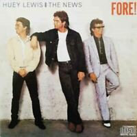 HUEY LEWIS & THE NEWS fore (CD, album, 1986) pop rock, rock & roll, very good,