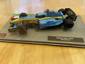 Formula 1 The Car Collection Renault R24 2004 as Driven by Jarno Trulli Item 73