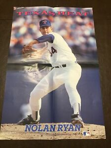 Nolan Ryan Poster TEXAS HEAT 16x24 Vintage Poster Rangers