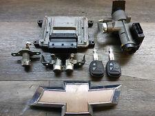 Chevrolet Spark KL1M 2010- Schloßsatz Motorsteuergerät 2x Funkschlüssel
