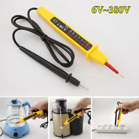 Universal 8In1 Tester Voltage AC DC 6V~380V Auto Electrical Test Pen Detector