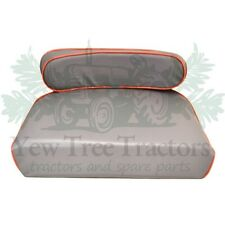 Massey Ferguson Seat Cushion  35 65 165 135  Tractor NEW Grey And Red