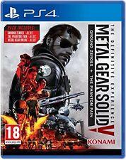 Metal Gear Solid V la experiencia definitiva PS4 PlayStation 4 Video Juego