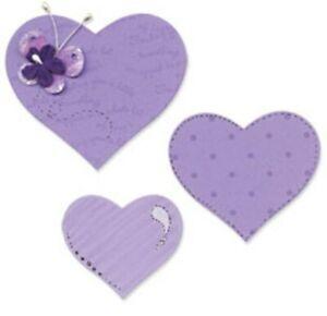 Sizzix Bigz Die Set - Hearts : 656334