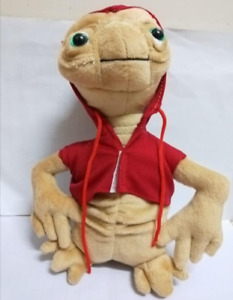 """Cartoon E.T. Extra-Terrestrial Alien Plush Soft Toy Stuffed Doll 11"""" Big Teddy"""