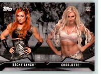 2016 WWE Divas Revolution Rivalries #6 Charlotte Flair Becky Lynch