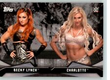 2016 WWE Divas Revolution Rivalries #6 Charlotte Flair Becky Lynch