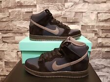 NIKE SB DUNK HIGH TRD QS BLACK GINO SKATEBOARDING SKATE SNEAKERS