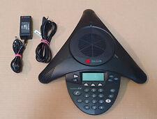 Polycom SoundStation 2W Wireless 1.9GHz DECT Conf Phone 2201-67880-101 F