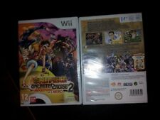 One Piece Unlimited Cruise 2 WII EDIZIONE ITALIANA  NUOVO SIGILLATO