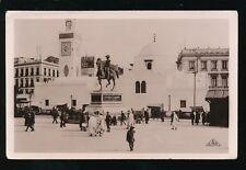 North Africa Algeria ALGIERS Statue Duc D'Orleans Mosque RP PPC