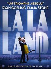 LA LA LAND Affiche Cinéma Movie Poster Damien Chazelle Emma Stone Ryan Gosling