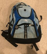 High Sierra Backpack Black/Blue