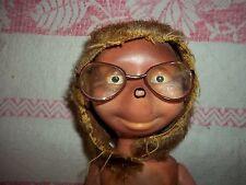 alte Igel-Mecki Figur mit Brille 22cm