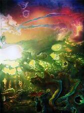 Impresión arte cartel Pintura Dibujo Abstracto Prill Brillo Color lfmp0915