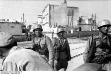 German Army Paratroopers Barletta Italy 1943 World War 2 Reprint Photo 6x4 Inch