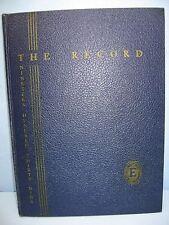 1939 Record, English High School, Boston, Massachusetts Yearbook