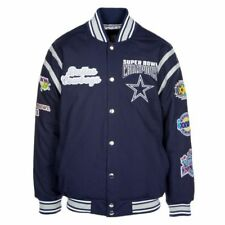 NFL Dallas Cowboys All Time Vsty Jacket Super Bowl Champions Large free shipping