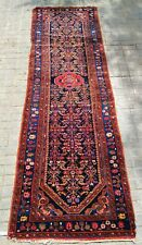 GREAT RUNNER RUG. WOOL KNOTED BY HAND. MIDDLE EAST. BEFORE 1950