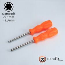 GameBit Security Screwdriver Tools 3.8mm & 4.5mm - Nintendo, GameBoy, SNES, N64
