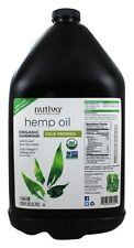 New 100% Raw Organic Hemp Oil Vegan Omega 3 6 ALA Pain Relive 1 Gallon 259 Serve