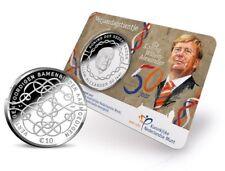 10 Euro Niederlande 2017 Blister Coincard 50. Geb. Willem Alexander bankfrisch
