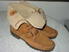 Mens Polo Ralph Lauren Reversible Brown Winter Boots! Size 13