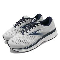 Brooks Dyad 11 Extra Wide Grey Navy White Men Running Shoes Sneakers 110323 4E