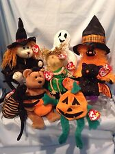 Ty Halloween Beanies and Alacazam Hagatha Alfalfa  8/Lot 1996 - 2007 3+  $18.99