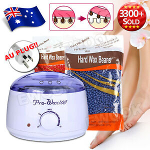 Wax Pot Wax Strips Warmer Hard Wax Bean Body Remover Heater Waxing Machine Kit