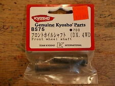 BS-75 Front Wheel Shaft - Kyosho Inferno ST Inferno DX Landmax GP-20 Super Eight