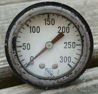 Vintage ASHCROFT 0-300 Pressure GAUGE