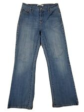 ■317 Levi's 512 Bootcut Perfectly Slimming Sz 10/SC Women's Blue Jeans Stretch