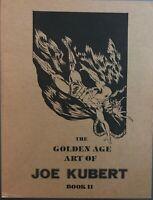 Golden Age Art Joe Kubert 2 The Golem Hawkman Al Dellinges Sheridan HTF VF