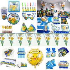 151 × Kids Pokémon Geburtstag Party Set Dekorationen Geschirr Thema Gefallen