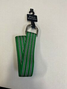 Polo by Ralph lauren Golf  Green / Multi  Nylon Belt  Sz L  Made in USA
