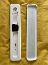 Apple Watch Sport 42mm Silver Aluminium Case White Sport Band - (MJ3N2B/A)