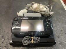 Wii U Video Game Console WUP-101(02) with Tablet Controller, Cords, 2 Nunchucks