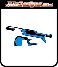 STARS BLUE CHAIN GUARD STICKER KIT TO MATCH OUR FULL KART KIT - JakeDesigns