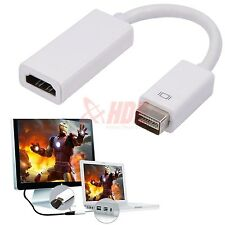 Mini DVI to HDMI Monitor Video M/F Adapter Converter Cable Cord for iMac Macbook