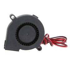 50mm DC 12V Cooling Fan Blow Radial Hotend / Extruder For RepRap 3D Printer